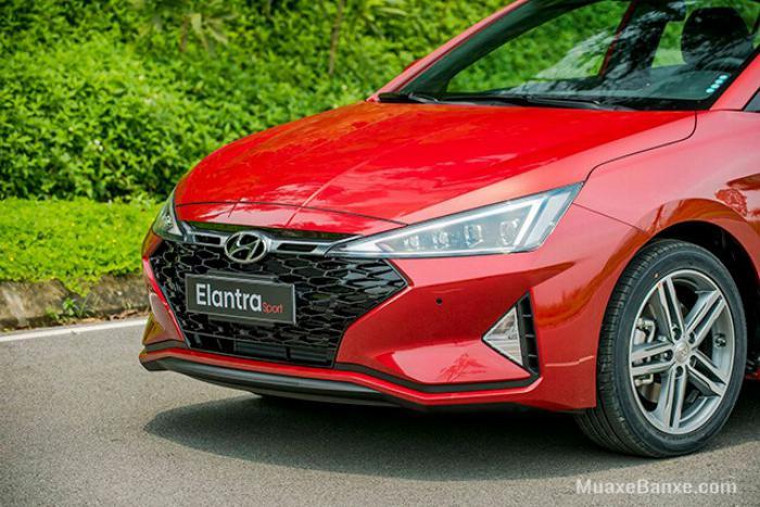 Hyundai Elantra 2020, đủ màu giao ngay 10