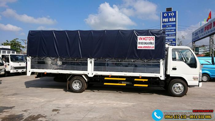 Xe ISUZU 1T9 thùng dài 6m2,rộng 2m giá tốt 3