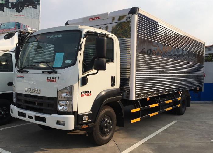 giá xe tải isuzu frr 650 2020 giao ngay