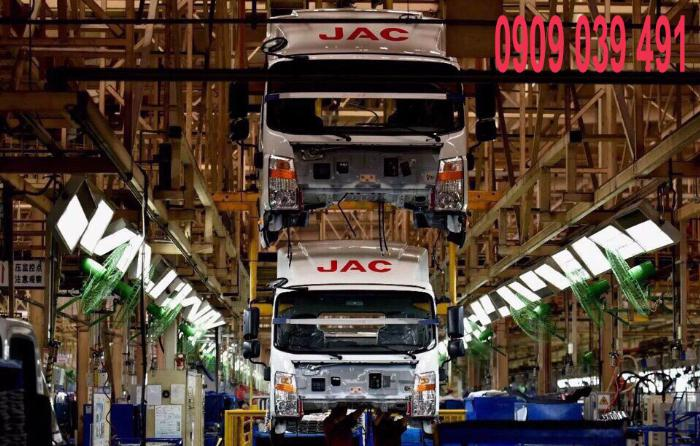 Xe Tải Jac 990kg Euro 4 - Hỗ Trợ Trả Góp 90% 7
