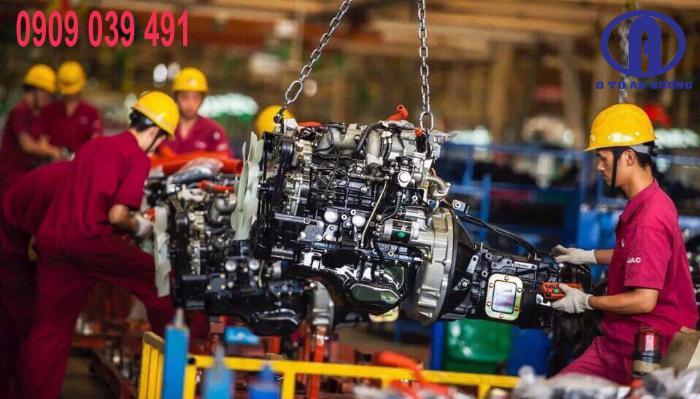 Xe Tải Jac 990kg Euro 4 - Hỗ Trợ Trả Góp 90% 8