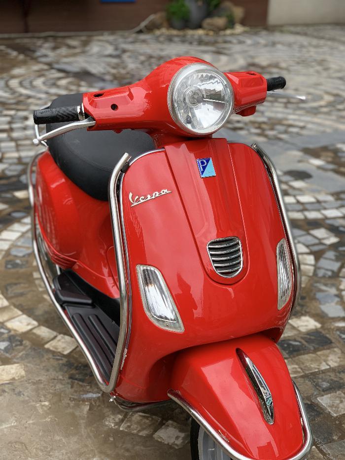 Cần bán Vespa LX 2014 màu đỏ quá đẹp, cực chât 10