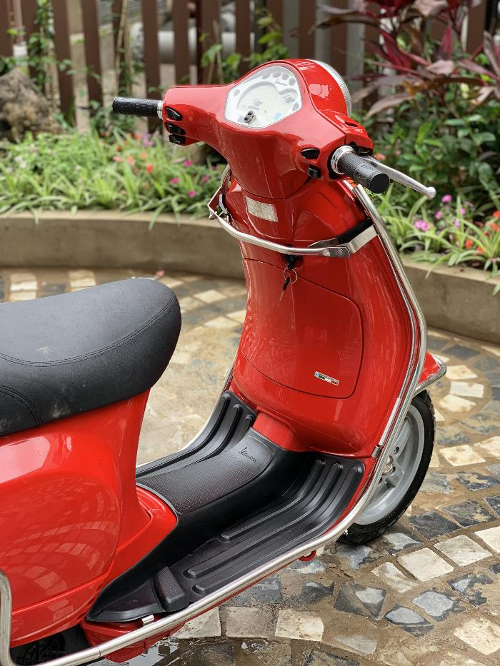 Cần bán Vespa LX 2014 màu đỏ quá đẹp, cực chât 5