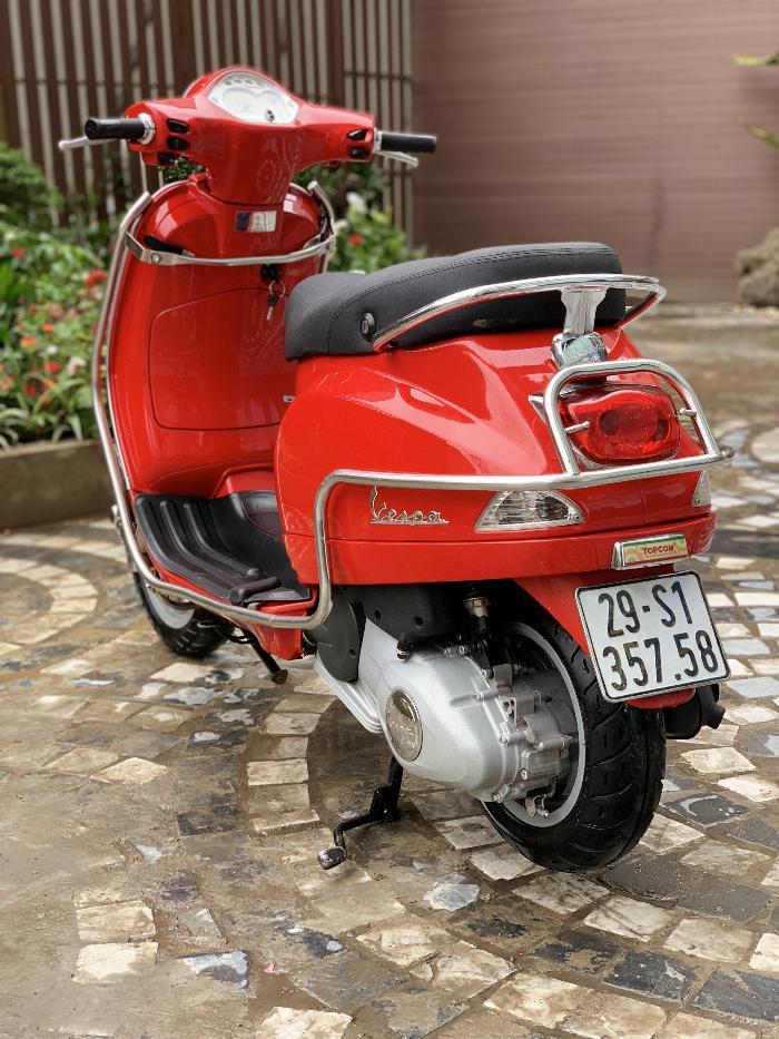 Cần bán Vespa LX 2014 màu đỏ quá đẹp, cực chât 0