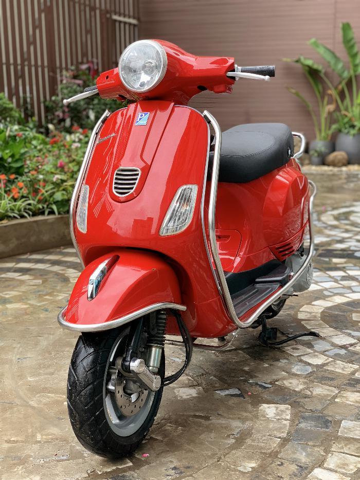 Cần bán Vespa LX 2014 màu đỏ quá đẹp, cực chât 9