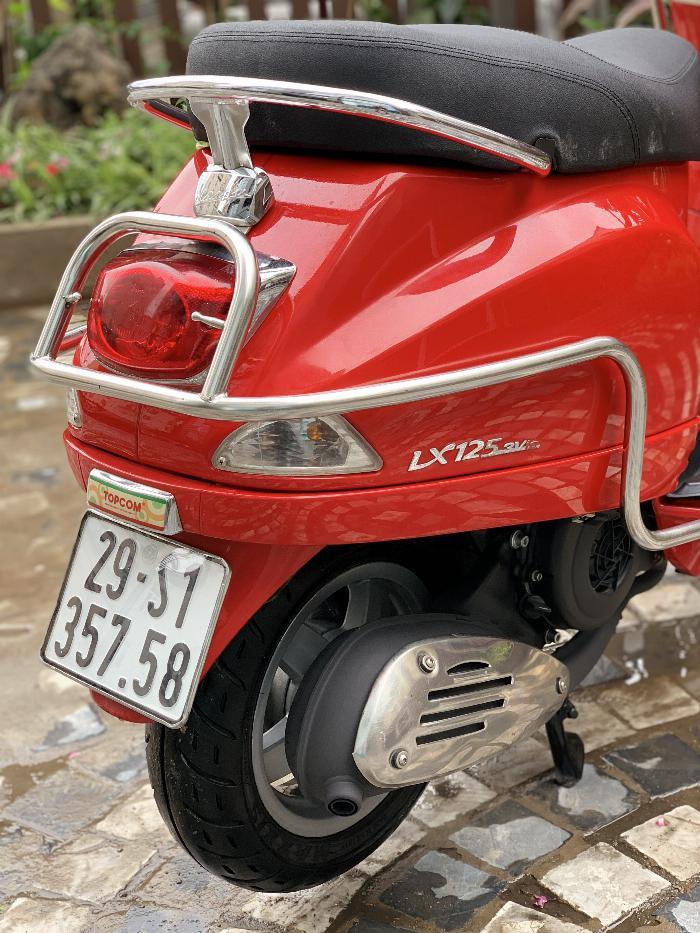 Cần bán Vespa LX 2014 màu đỏ quá đẹp, cực chât 3