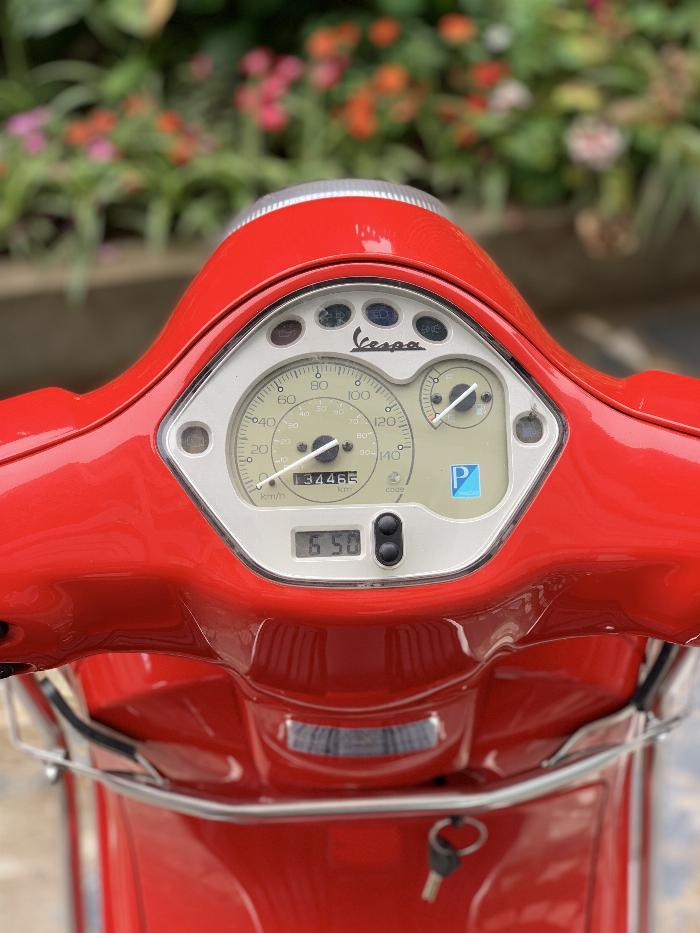 Cần bán Vespa LX 2014 màu đỏ quá đẹp, cực chât 6