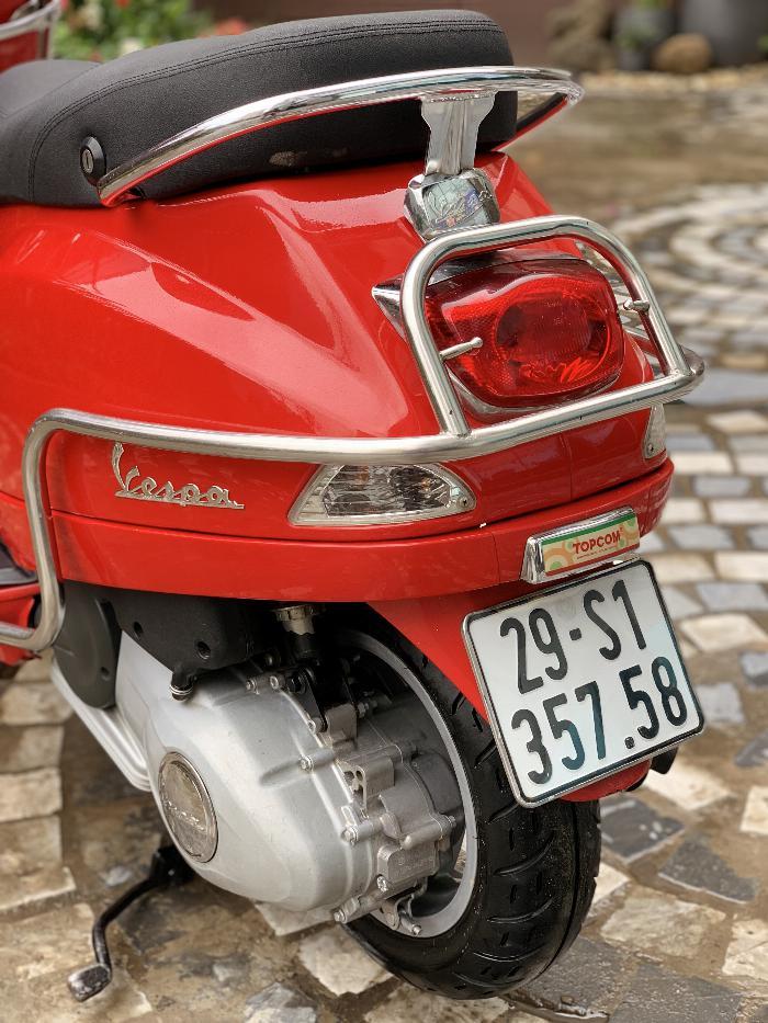 Cần bán Vespa LX 2014 màu đỏ quá đẹp, cực chât 2