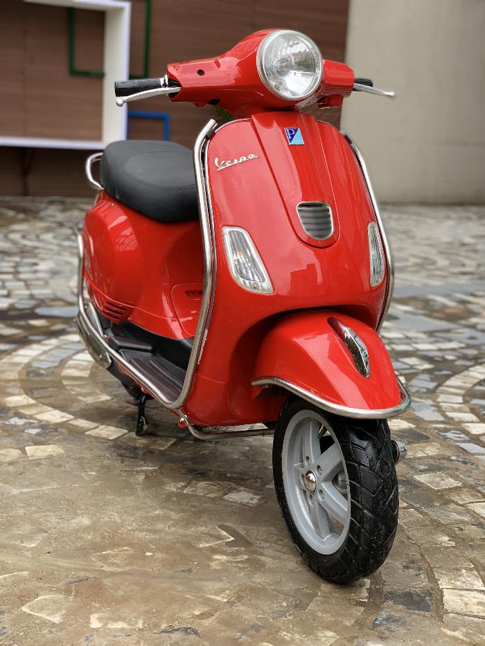 Cần bán Vespa LX 2014 màu đỏ quá đẹp, cực chât 8
