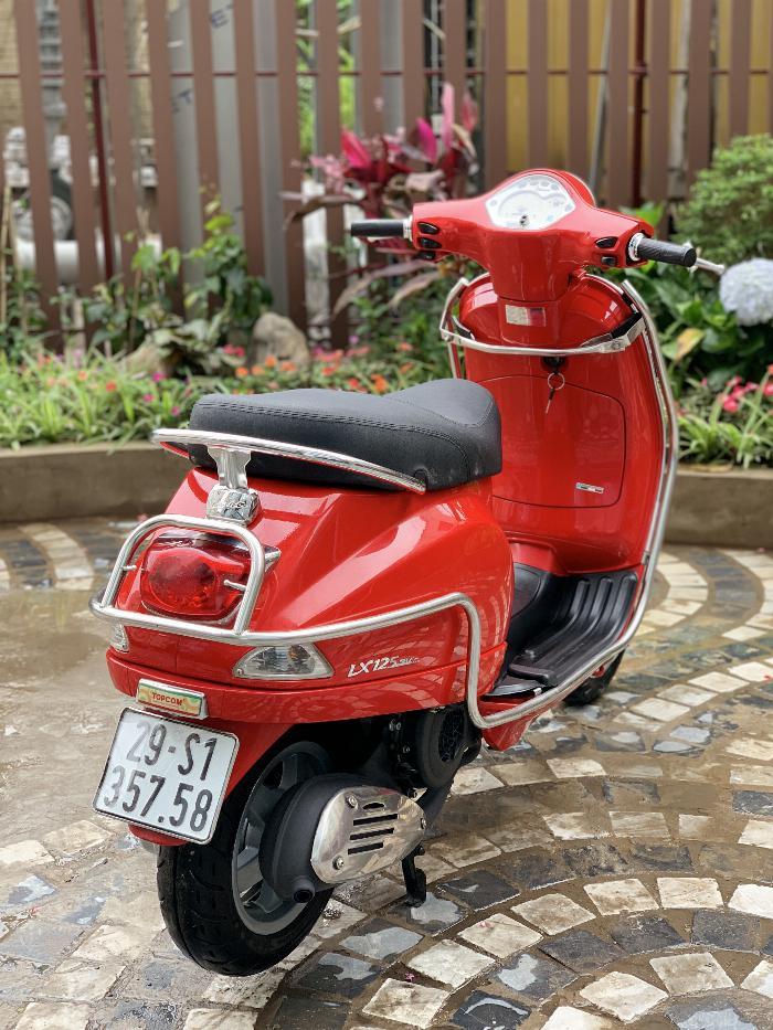 Cần bán Vespa LX 2014 màu đỏ quá đẹp, cực chât 4