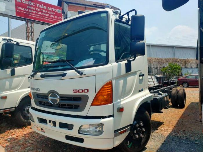 Hino 500 Series (MDT) sản xuất năm  Số tay (số sàn) Xe tải động cơ Dầu diesel