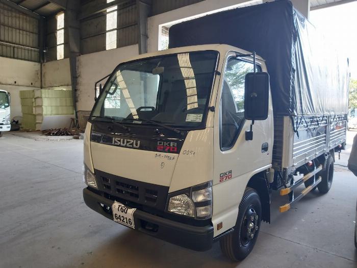 xe tải isuzu qkr 270 thùng bạt