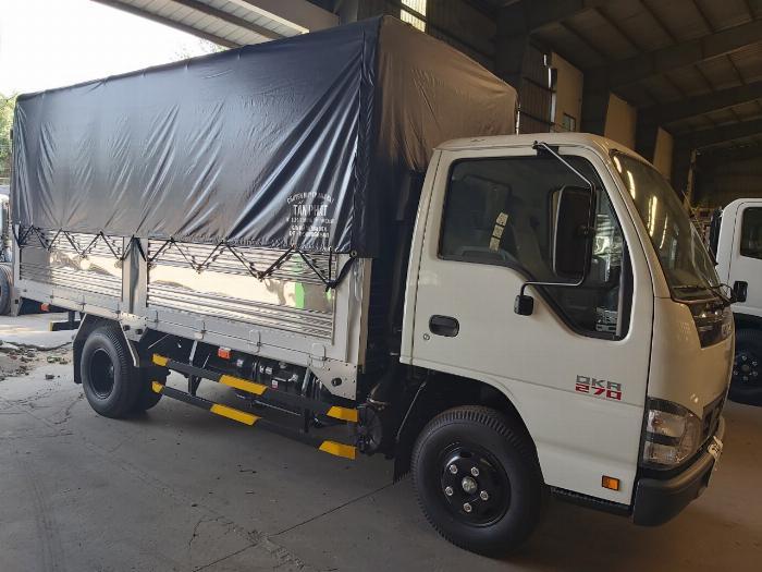 xe tải isuz qkr 270 mui bạt