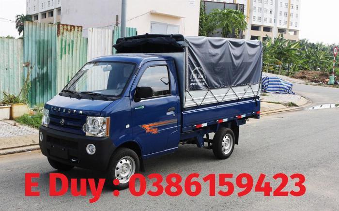 Giá xe tải 1 tấn +bình dương | xe dongben 2020 : dongben 1021 thùng - 870kg | 810kg | 770kg .