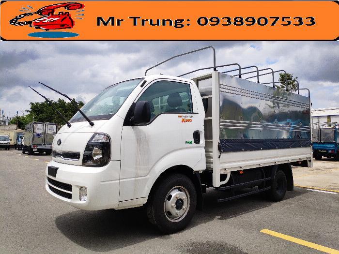 Xe tải Thaco Kia New frontier K250 tải 2.49 tấn, thùng dài 3m5, đời 2020 giá tốt 3