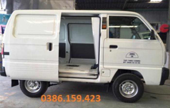 Xe tải cóc suzuki van , giá xe suzuki van mới nhất 2020 | suzuki carry super truck . 5
