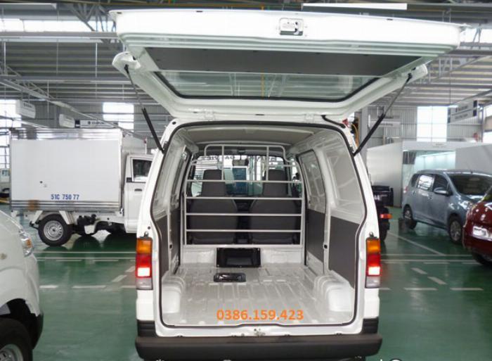 Xe tải cóc suzuki van , giá xe suzuki van mới nhất 2020 | suzuki carry super truck . 4