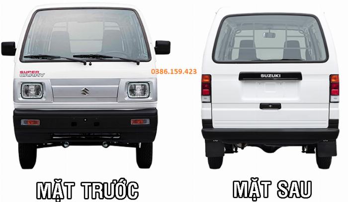 Xe tải cóc suzuki van , giá xe suzuki van mới nhất 2020 | suzuki carry super truck . 1