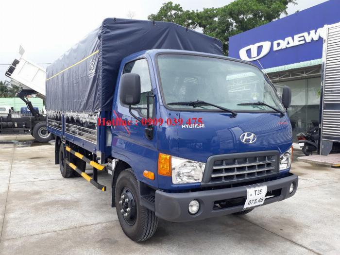 Xe tải HYUNDAI NEW MIGHTY 2017 ga cơ 8 tấn ,thùng dài 5,05m 0