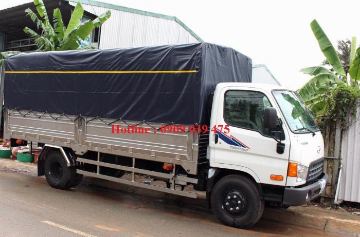 Xe tải HYUNDAI NEW MIGHTY 2017 ga cơ 8 tấn ,thùng dài 5,05m 3