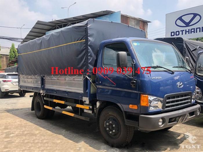 Xe tải HYUNDAI NEW MIGHTY 2017 ga cơ 8 tấn ,thùng dài 5,05m 1