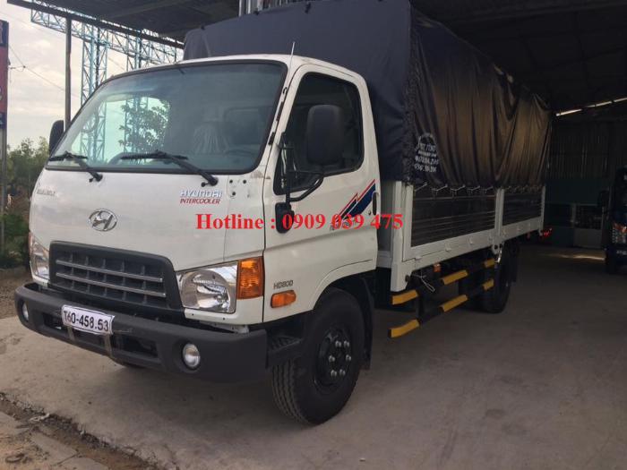 Xe tải HYUNDAI NEW MIGHTY 2017 ga cơ 8 tấn ,thùng dài 5,05m 4