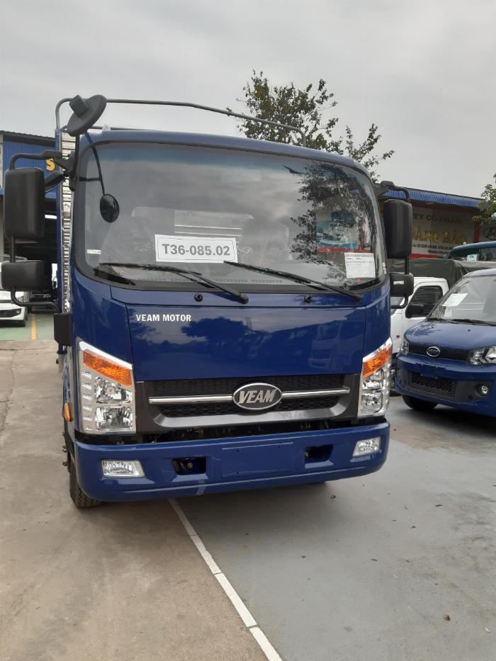 xe tải veam VT260-1 tải trọng 1850kg thùng dài 6.1m