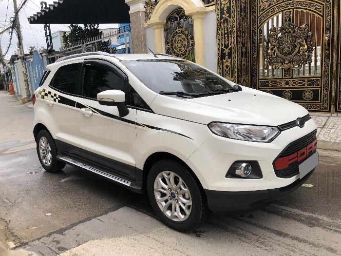 Mình bán Ford Ecosport 2017 màu trắng 3