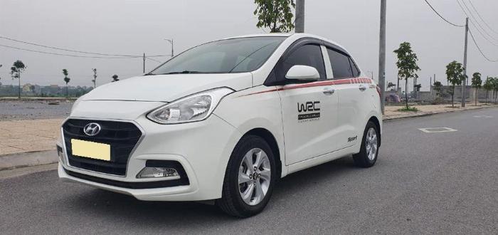 Cần bán Hyundai I10 số sàn 2017 full 1.2 màu Trắng 0