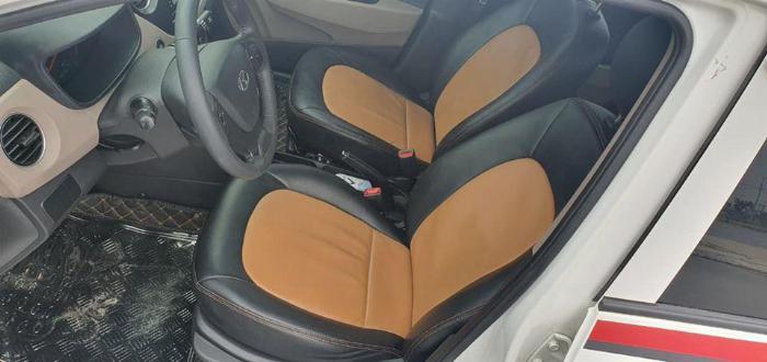 Cần bán Hyundai I10 số sàn 2017 full 1.2 màu Trắng 2