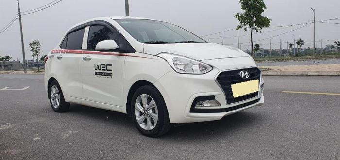 Cần bán Hyundai I10 số sàn 2017 full 1.2 màu Trắng 5