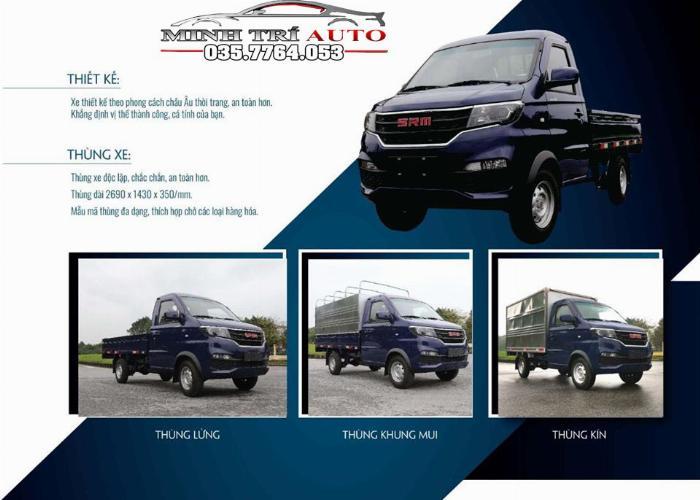 xe tải nhỏ dongben srm 930 kg -chất lượng cao,giá tốt liên hệ 0357764053 0