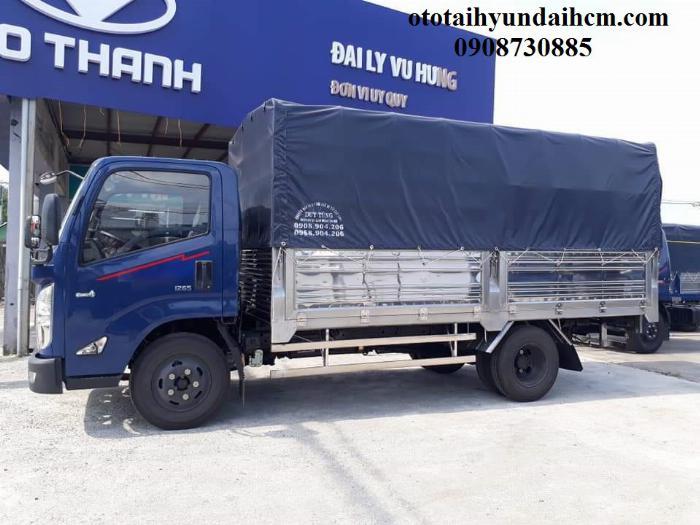 xe tải iz65 thùng nhôm giá rẻ