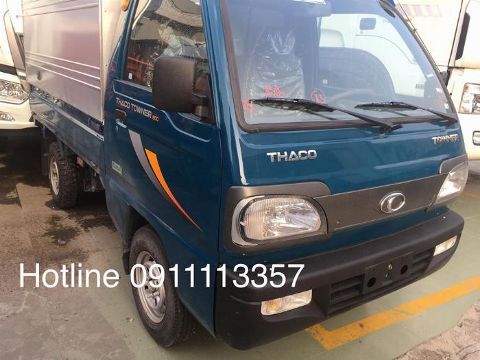 Thaco Towner 800 tải 9 ta tải nhỏ trong gia đình thaco 4