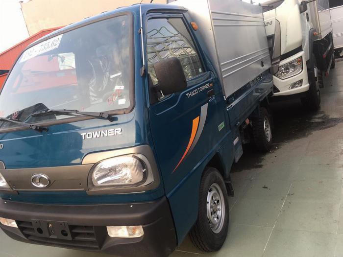 Thaco Towner 800 tải 9 ta tải nhỏ trong gia đình thaco