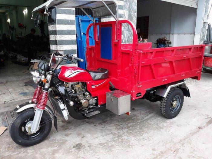 Xe Hoa Lâm - xe lôi 3 bánh - Đức Hoàng 2