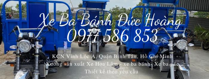 Xe Hoa Lâm - xe lôi 3 bánh - Đức Hoàng 7