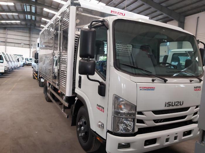 Xe tải Isuzu 3.5 Tấn NPR 400 Thùng Kín 2020 Trả Góp 0