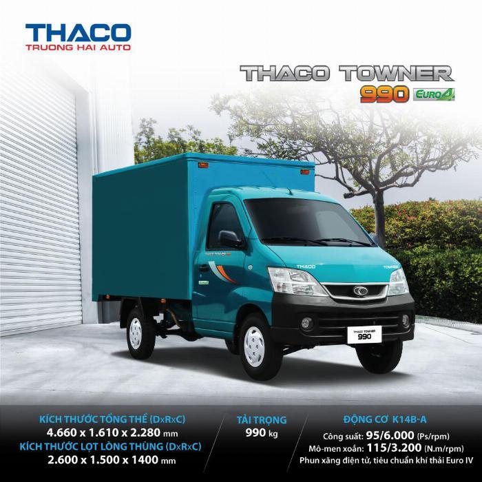 Thaco Towner 990 TK tại Hải Dương