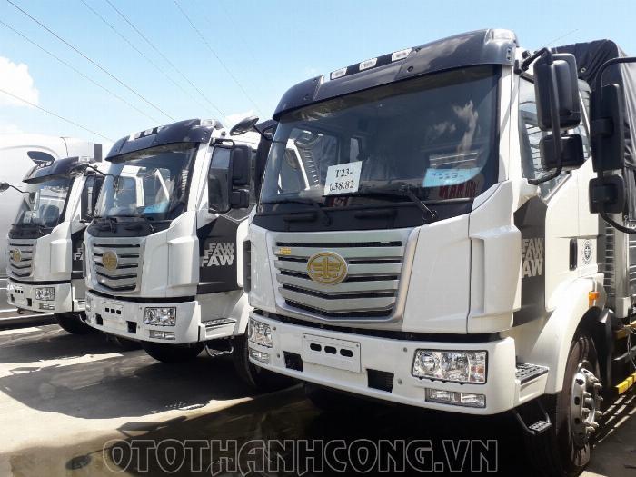 Xe tải faw 7.25 tấn thùng dài 9.7m 0