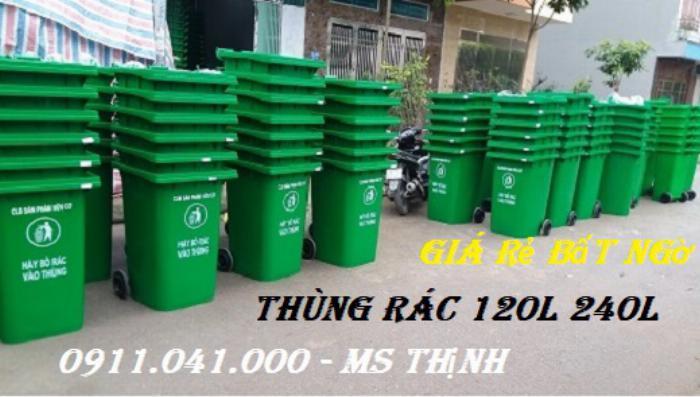 Thùng đựng rác thải giá cạnh tranh-0911.041.000