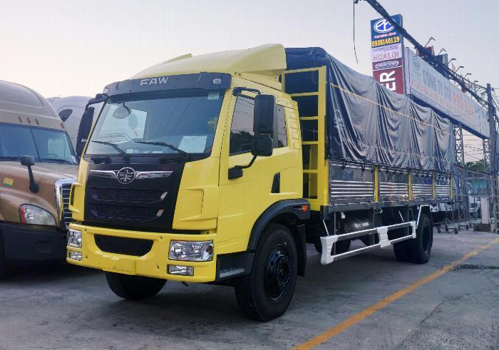 Xe tải faw 8 tấn - thùng dài 8 mét chở hàng nhẹ, bao bì | Hỗ trợ trả góp 0