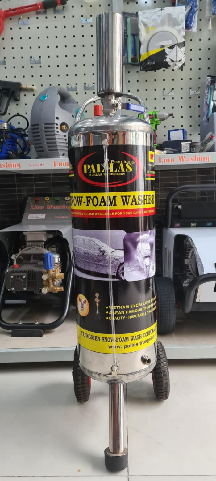 Chuyên cung cấp các loại bình bọt tuyết rửa xe 0