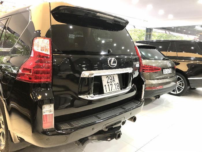 Lexus GX 460 2012 màu đen nội thất đen 6