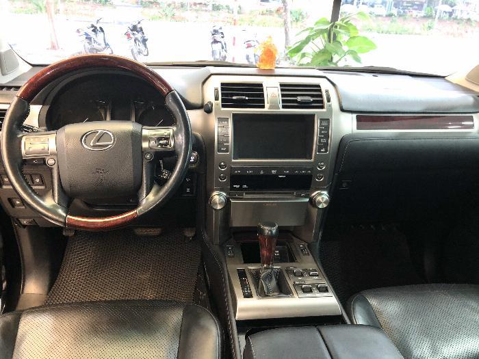 Lexus GX 460 2012 màu đen nội thất đen 11