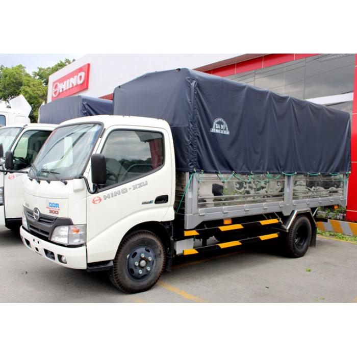 Bán xe tải Hino XZU650L 1,9 tấn thùng mui bạt giá ưu đãi 3
