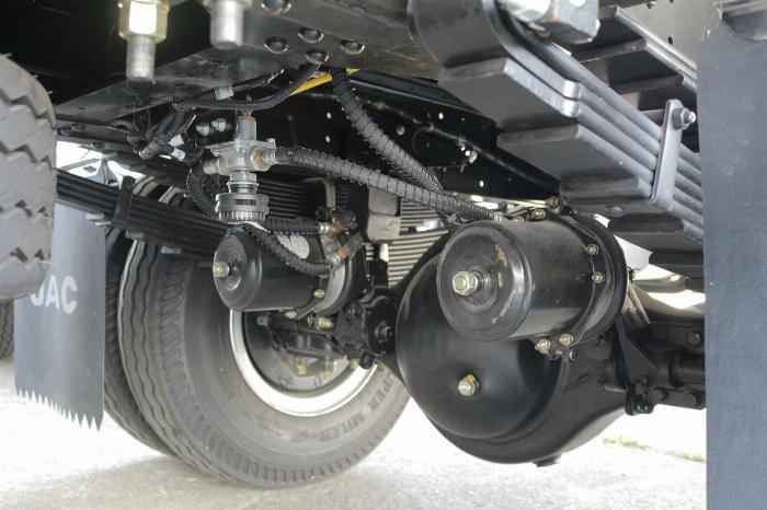 Xe tải jac N650 6.5 tấn thùng bạt 6m2 động cơ cummin nhập | Hỗ trợ trả góp 5