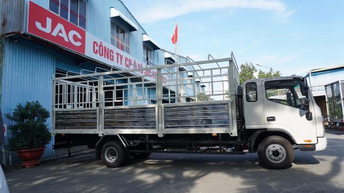 Xe tải jac N650 6.5 tấn thùng bạt 6m2 động cơ cummin đời 2020 | Hỗ trợ trả góp 2