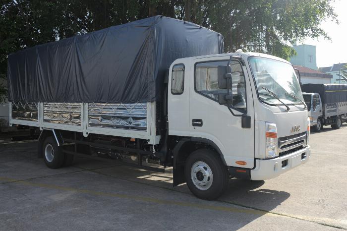 Xe tải jac N650 6.5 tấn thùng bạt 6m2 động cơ cummin nhập | Hỗ trợ trả góp 4