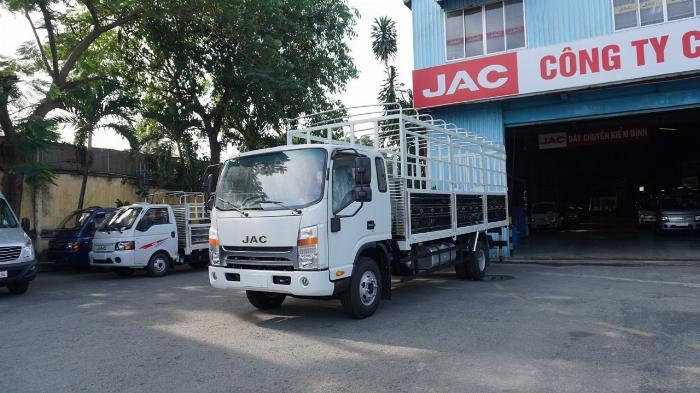 Xe tải jac N650 6.5 tấn thùng bạt 6m2 động cơ cummin nhập | Hỗ trợ trả góp 2